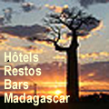 Hôtels, restaurants, bars, etc, à Madagascar
